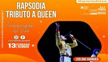 Concierto en Casa: Rapsiodia Tributo Queen
