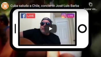 Cuba saluda a Chile, concierto José Luis Barba
