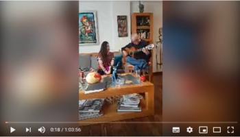 Desde México, María Inés Ochoa cantó a Talagante