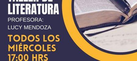 TALLER DE LITERATURA                                                                            Y POESÍA NACIONAL