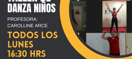 TALLER DE DANZAS                                                        TRADICIONALES PARA NIÑOS