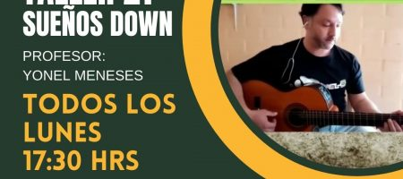 """Taller de música para niños y niñas con Síndrome de Down"""