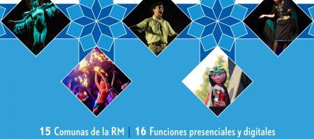 CINCO OBRAS DE ARTES ESCÉNICAS RECORRERÁN GRATIS 15 COMUNAS DE LA REGIÓN METROPOLITANA